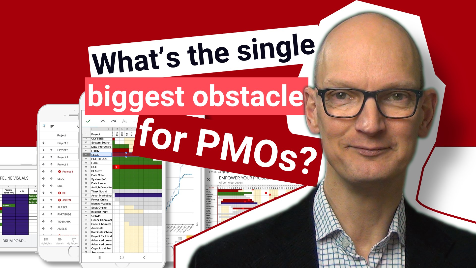 What's the single biggest obstacle for PMOs?