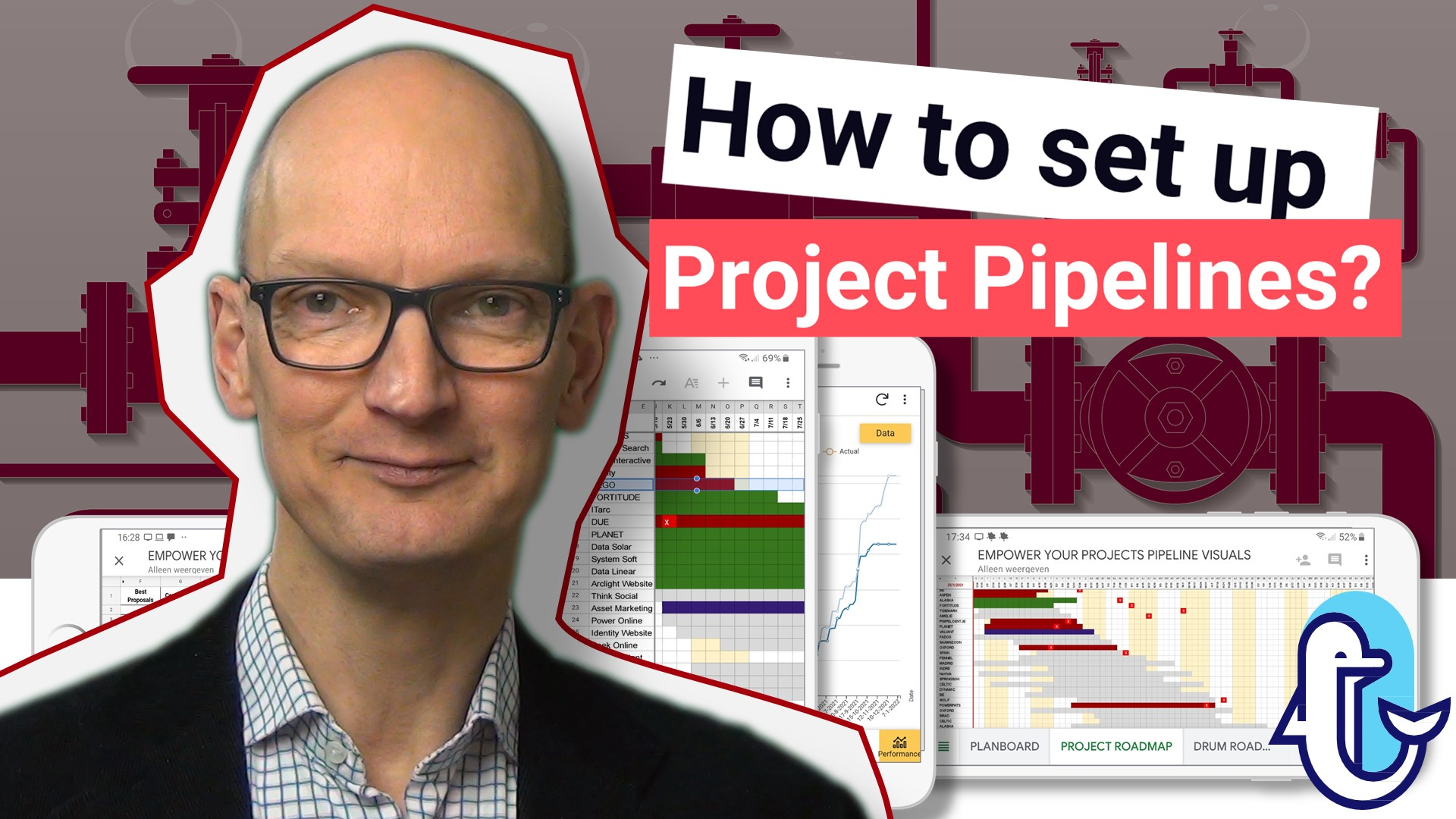 Project Pipeline App. How to set up pipelines?