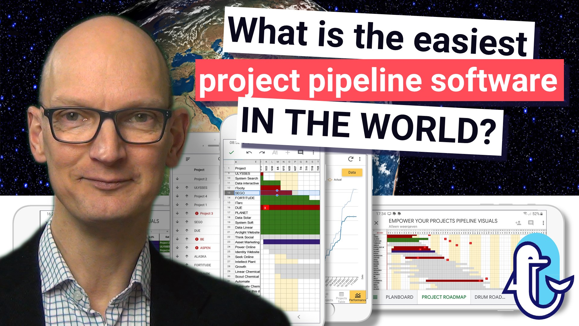 What is the easiest project pipeline software in the world?