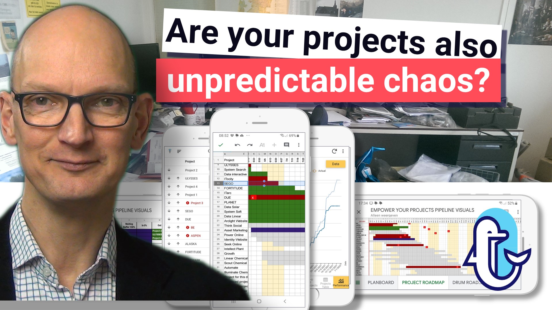 Are your projects also unpredictable chaos?